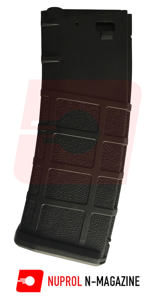 N-Mag Flash M4 Magazine 300rnd Black NUPROL