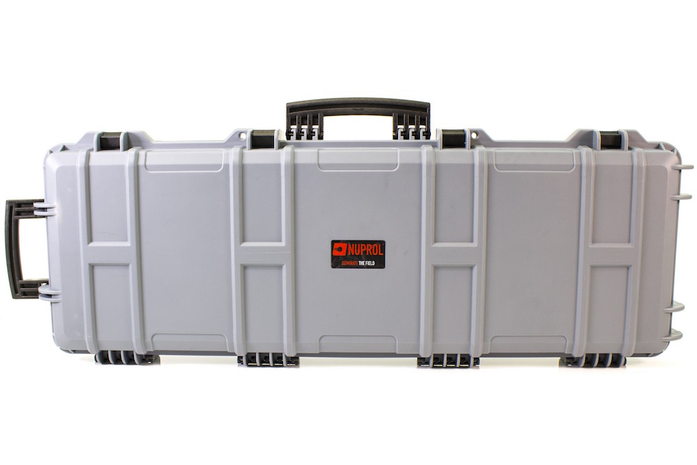 Large Rifle Hard Case Grey NUPROL