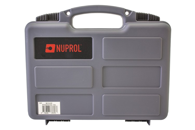 Pistol Hard Case Grey (PnP Foam) NUPROL
