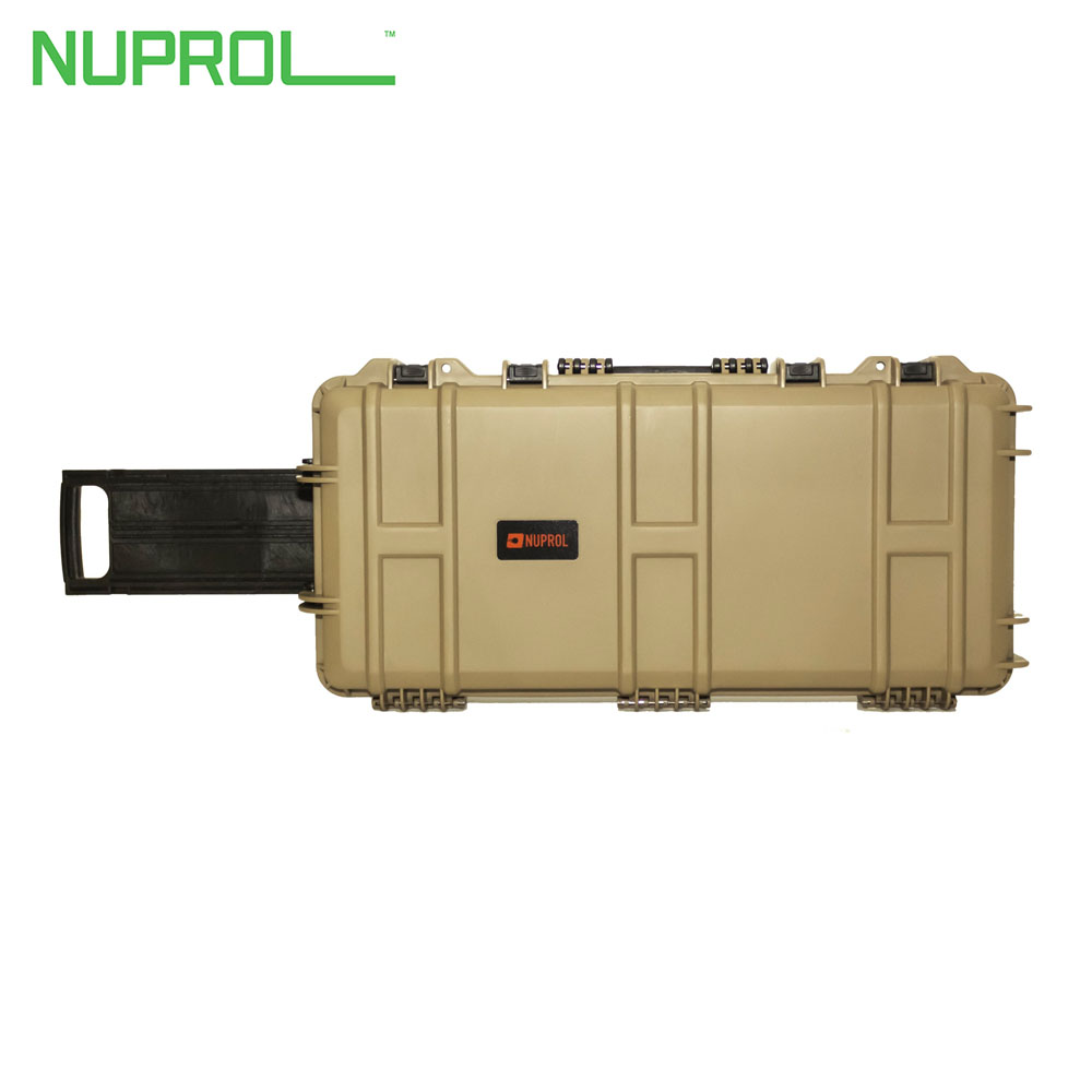 NP Medium Hard Case with Wheels Tan (PnP Foam) NUPROL