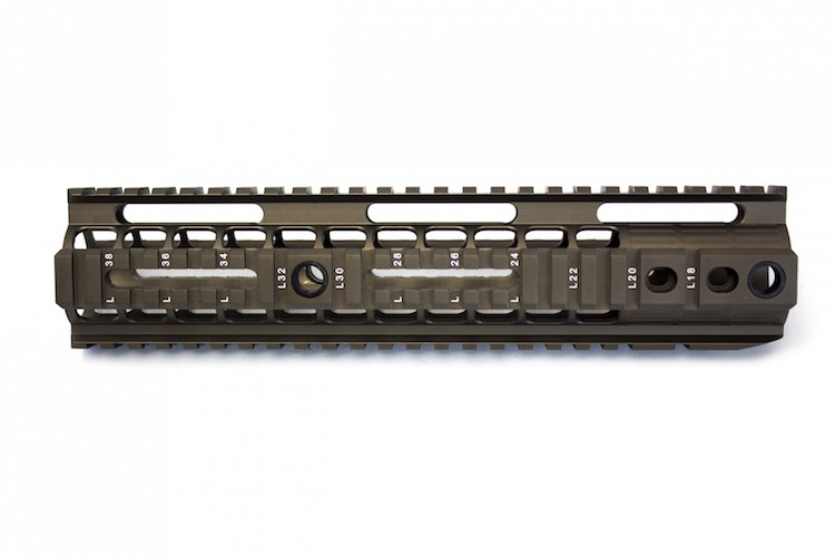 BOCCA Series One Rail 10 inch Bronze NUPROL