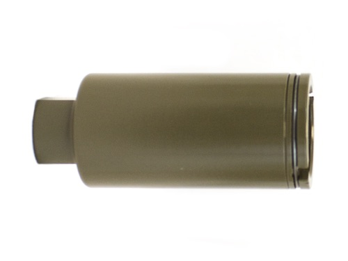 Copperhead 14mm CCW Flash Hider Tan NUPROL