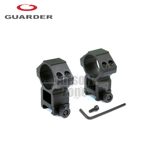 Premium 30mm Scope Rings (Deluxe High) Guarder