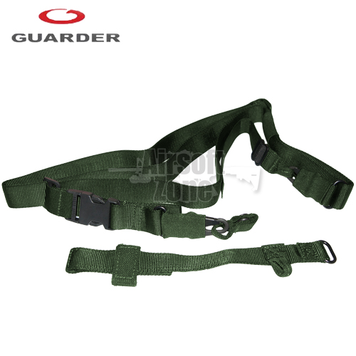 Tactical Three Point Sling OD Guarder