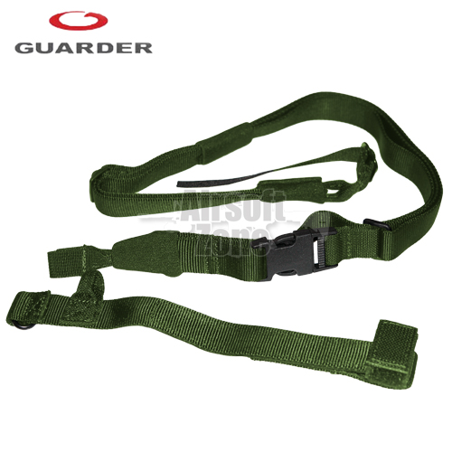 Tactical Three Point Sling (wide version) OD Guarder