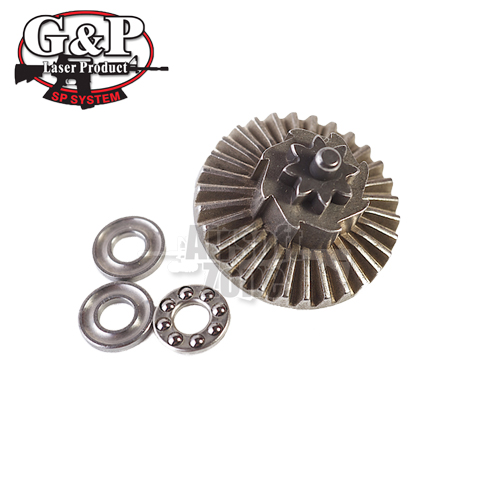Super Torque Up Ball Bearing Bevel Gear (8T) G&P
