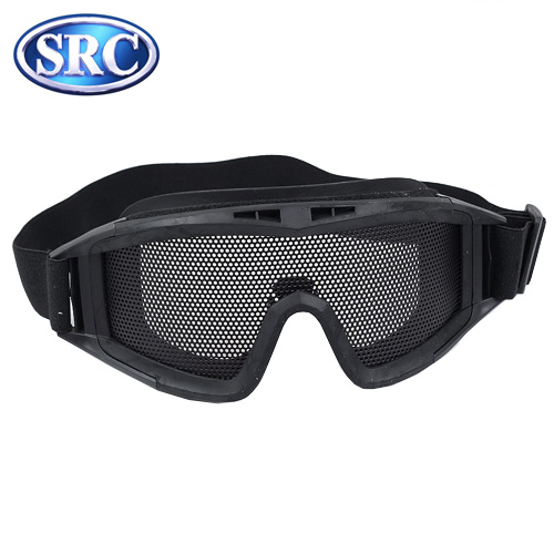 Wire Mesh Goggles DL Style Black