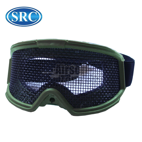 Mesh Goggles Large Green