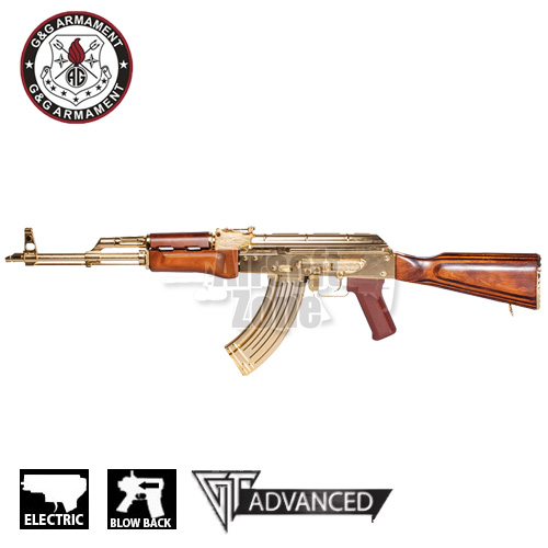 GKM47 Gold AKM with Battery Limited Edition AEG G&G