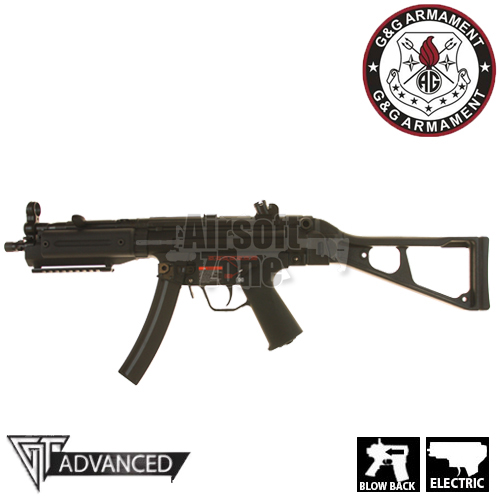 (GEN 2) TGM A5 Blowback NP5 with Folding Stock AEG G&G