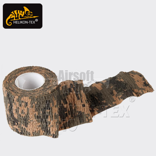 Camouflage Self Clinging Fabric Tape Digital Woodland Camo HELIKON