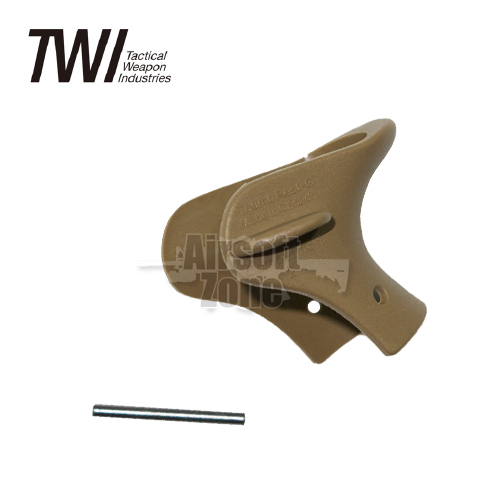 Glock 17/19 Thumb Rest Tan TWI