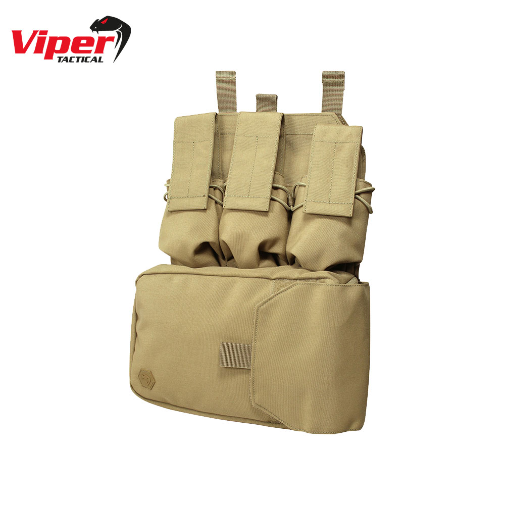 Assault Panel for MOLLE Vest Coyote Viper Tactical
