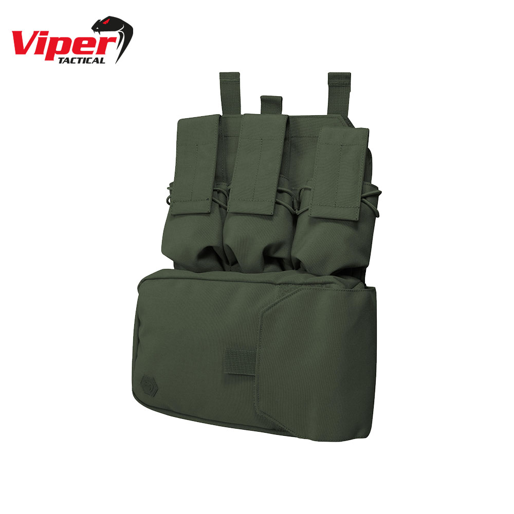 Assault Panel for MOLLE Vest OD Green Viper Tactical