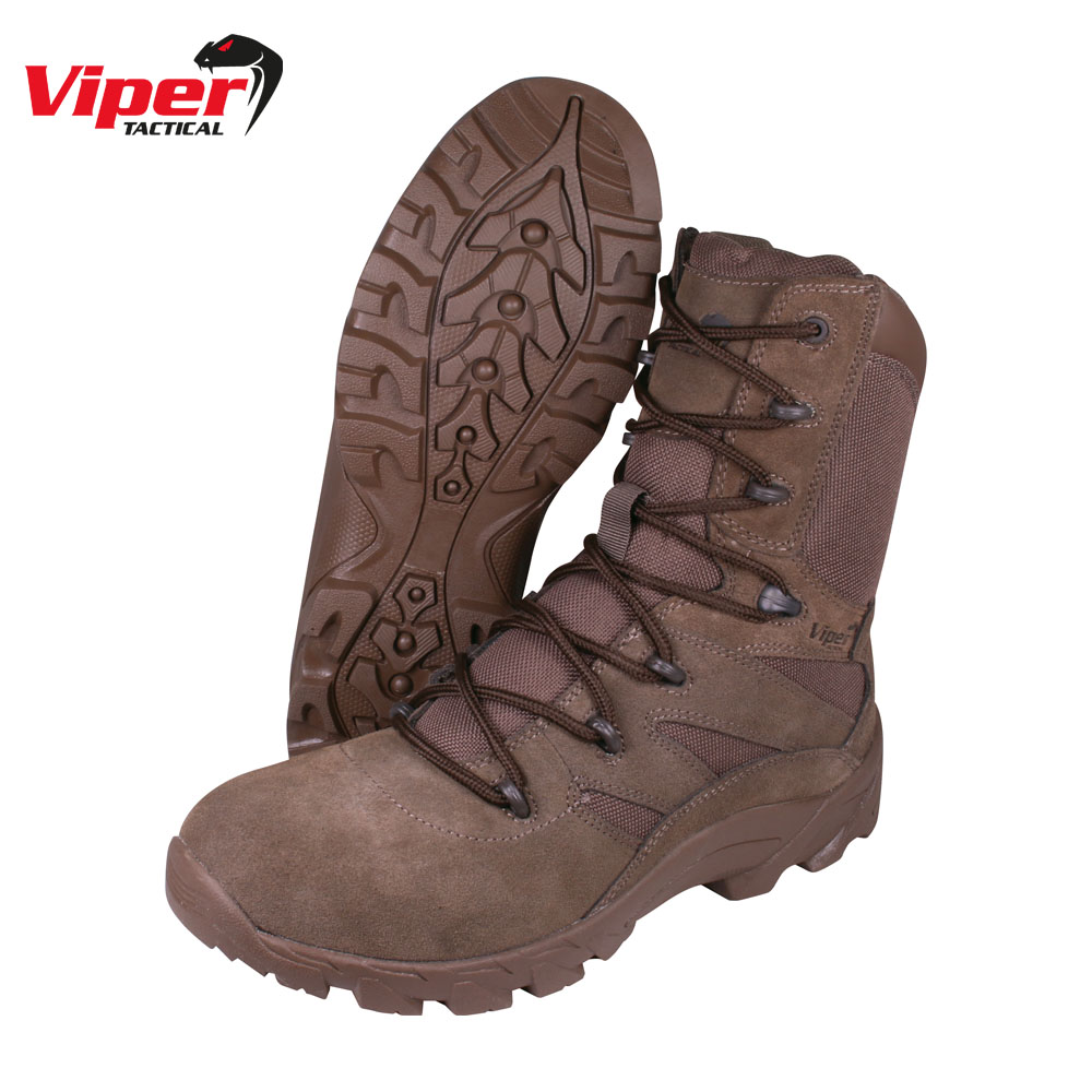 Covert Boots Brown Viper Tactical
