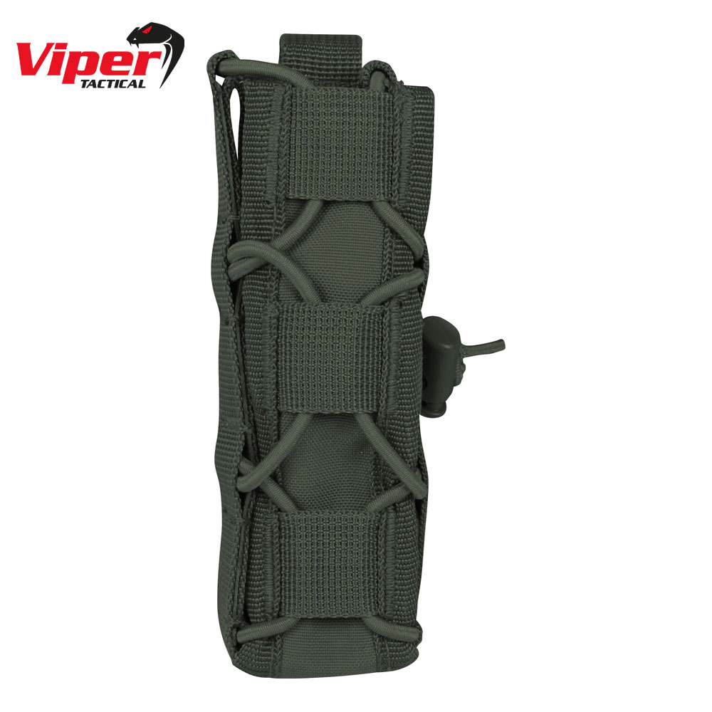 Elite Extended Pistol Mag Pouch OD Green Viper Tactical