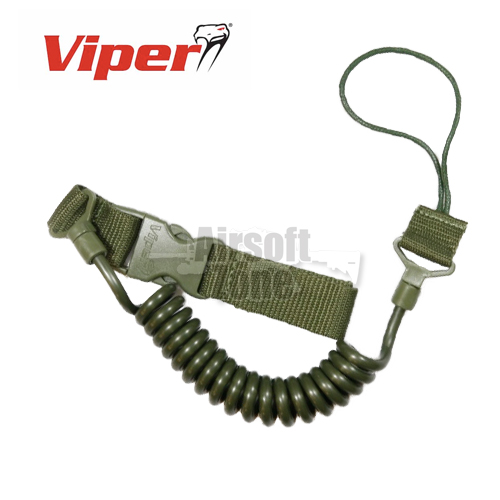 Special Ops Pistol Lanyard OD Green Viper Tactical