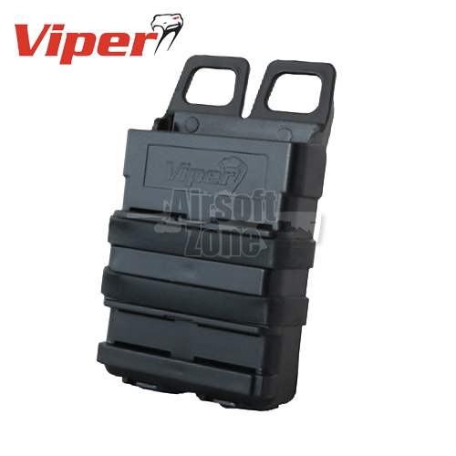 Quick Release Mag Case M4 Magazine Pouch Black MOLLE Viper Tactical