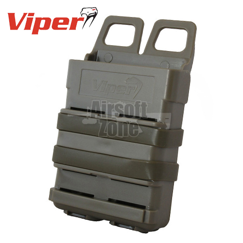 Quick Release Mag Case M4 Magazine Pouch Coyote MOLLE Viper Tactical