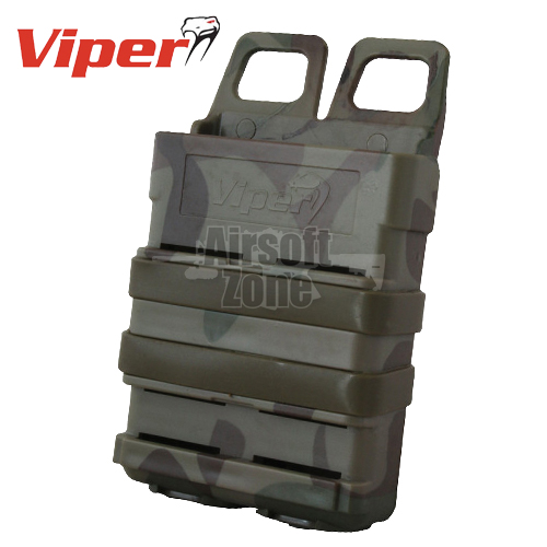 Quick Release Mag Case VCAM M4 Magazine Pouch MOLLE Viper Tactical