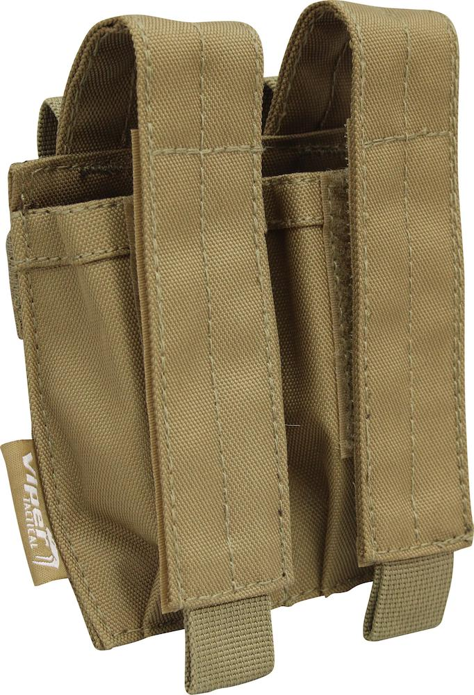 Double Pistol Magazine Pouch Coyote Viper Tactical