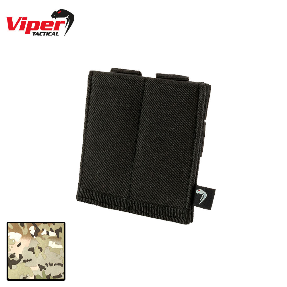 Double Pistol Mag Plate Pouch VCAM Viper Tactical