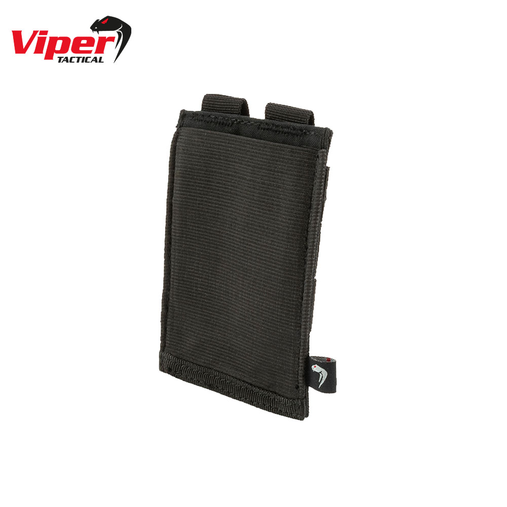Single Rifle Mag Plate Pouch Black Viper Tactical