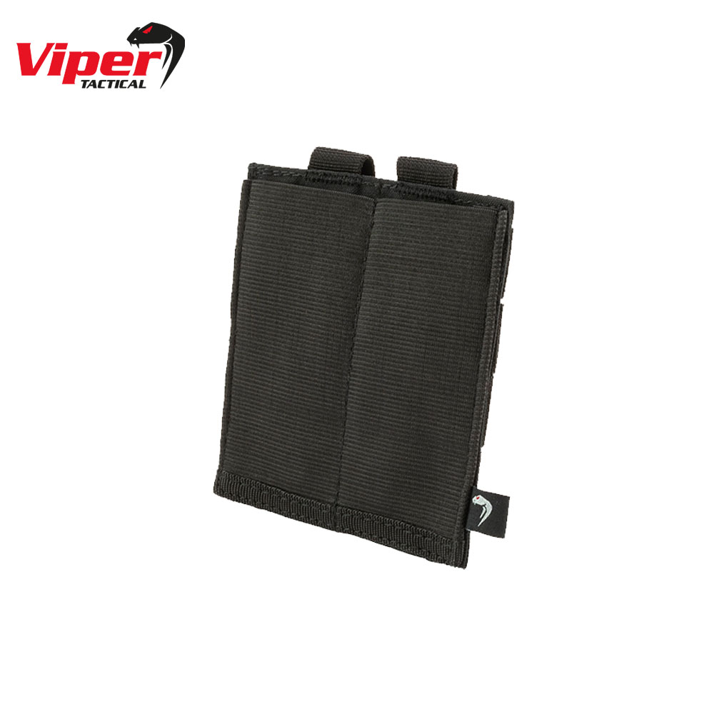 Double SMG Mag Plate Pouch Black Viper Tactical