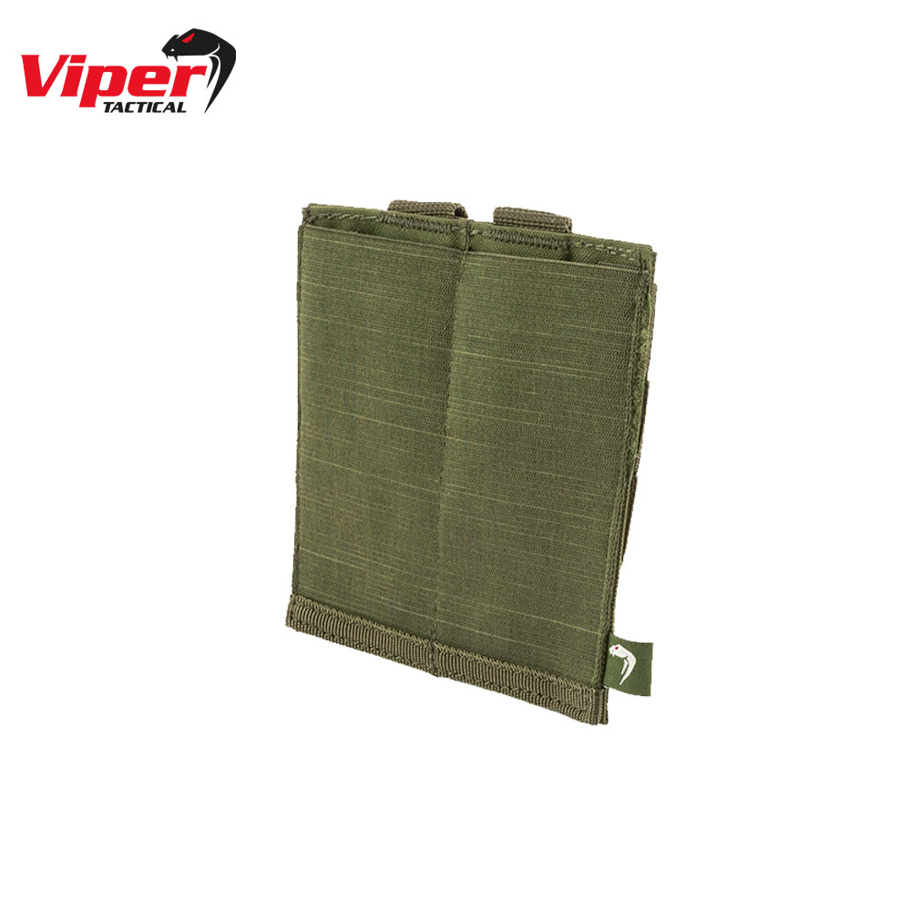 Double SMG Mag Plate Pouch Green Viper Tactical