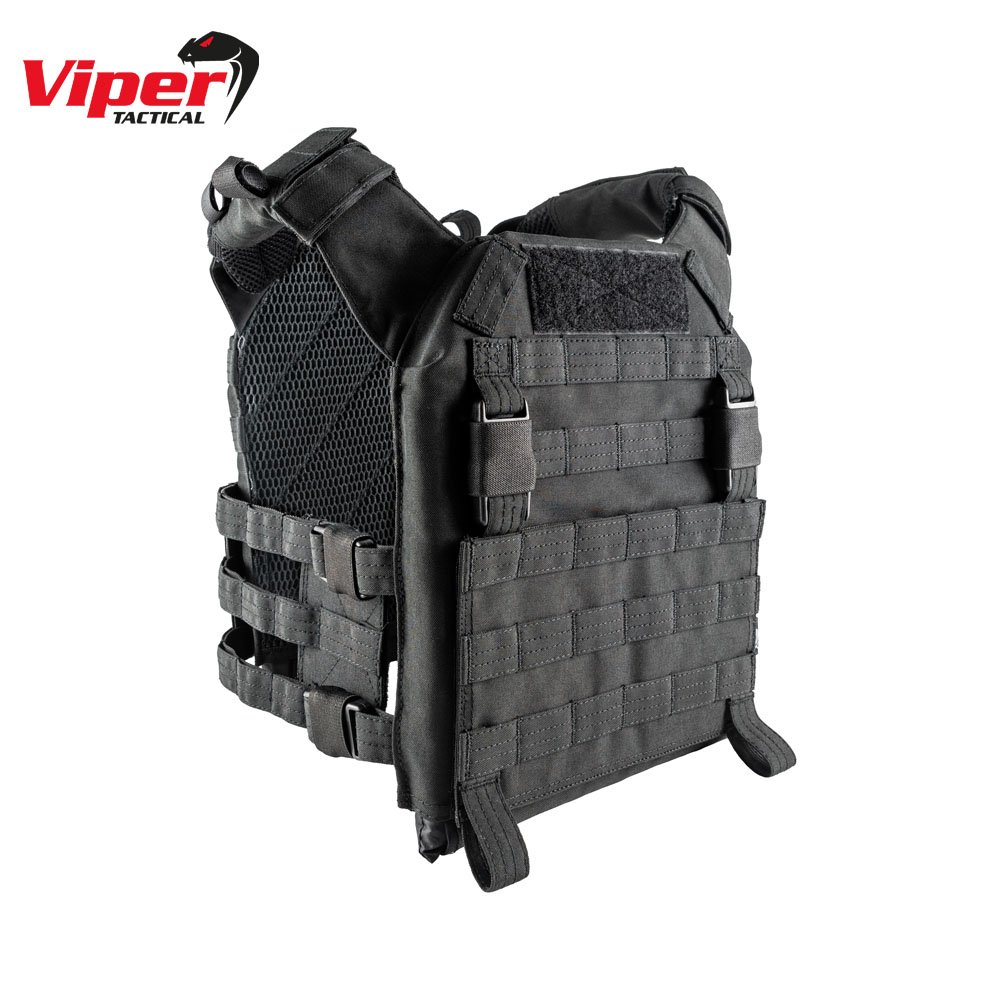 VX Buckle Up Plate Carrier Black Viper Tactical