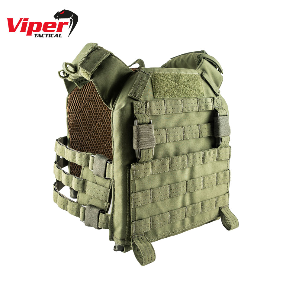 VX Buckle Up Plate Carrier Green Viper Tactical