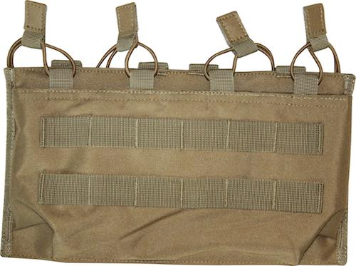 Quad Magazine Sleeve Pouch MOLLE Coyote Viper Tactical