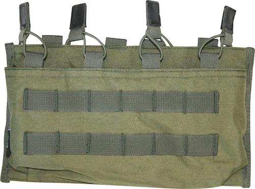 Quad Magazine Sleeve Pouch MOLLE OD Green Viper Tactical