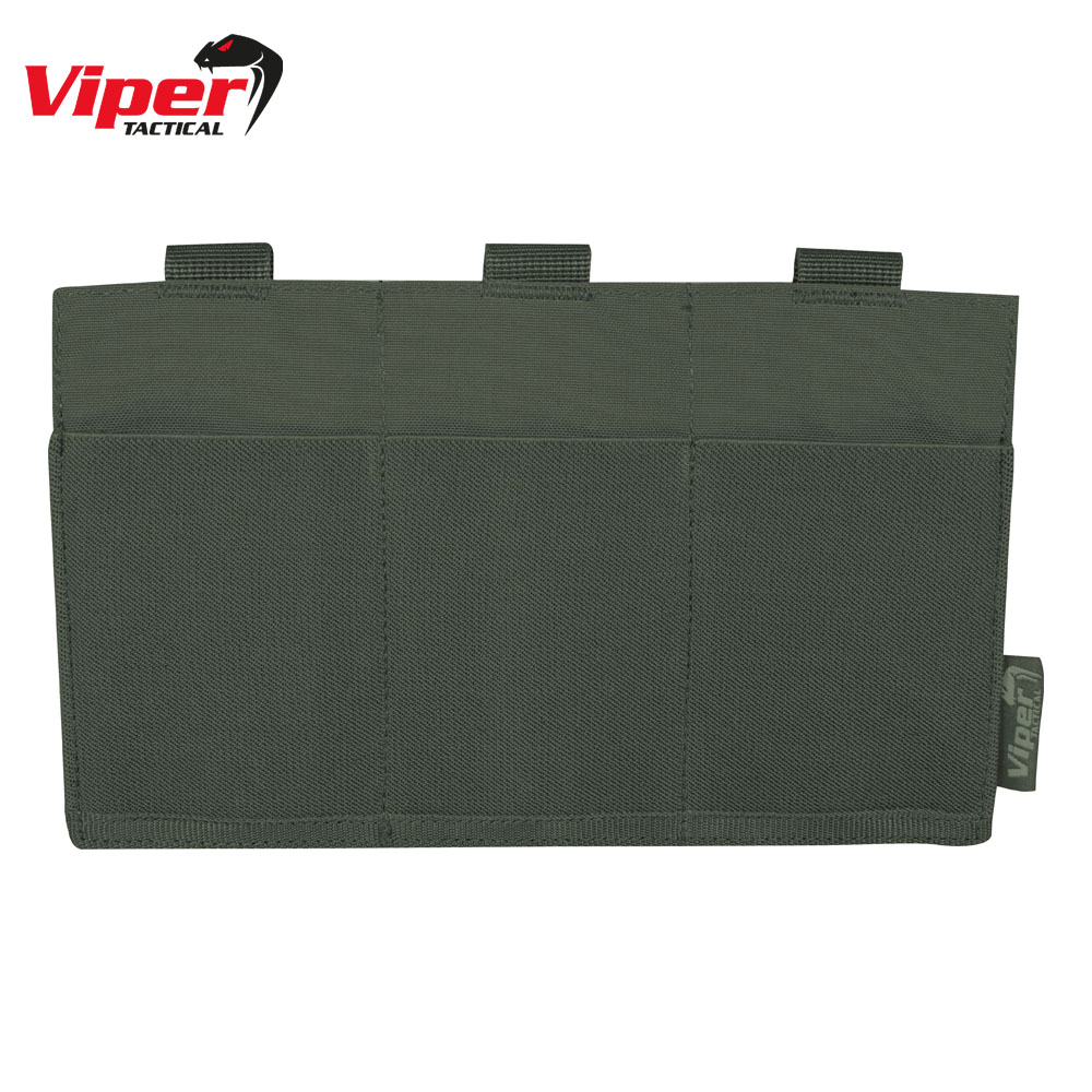Triple Magazine Plate OD Green Viper Tactical