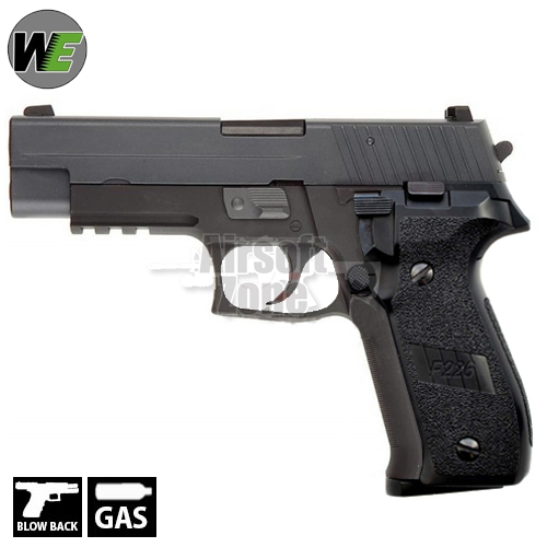 SG P226 with Rail Full Metal Pistol GBB WE