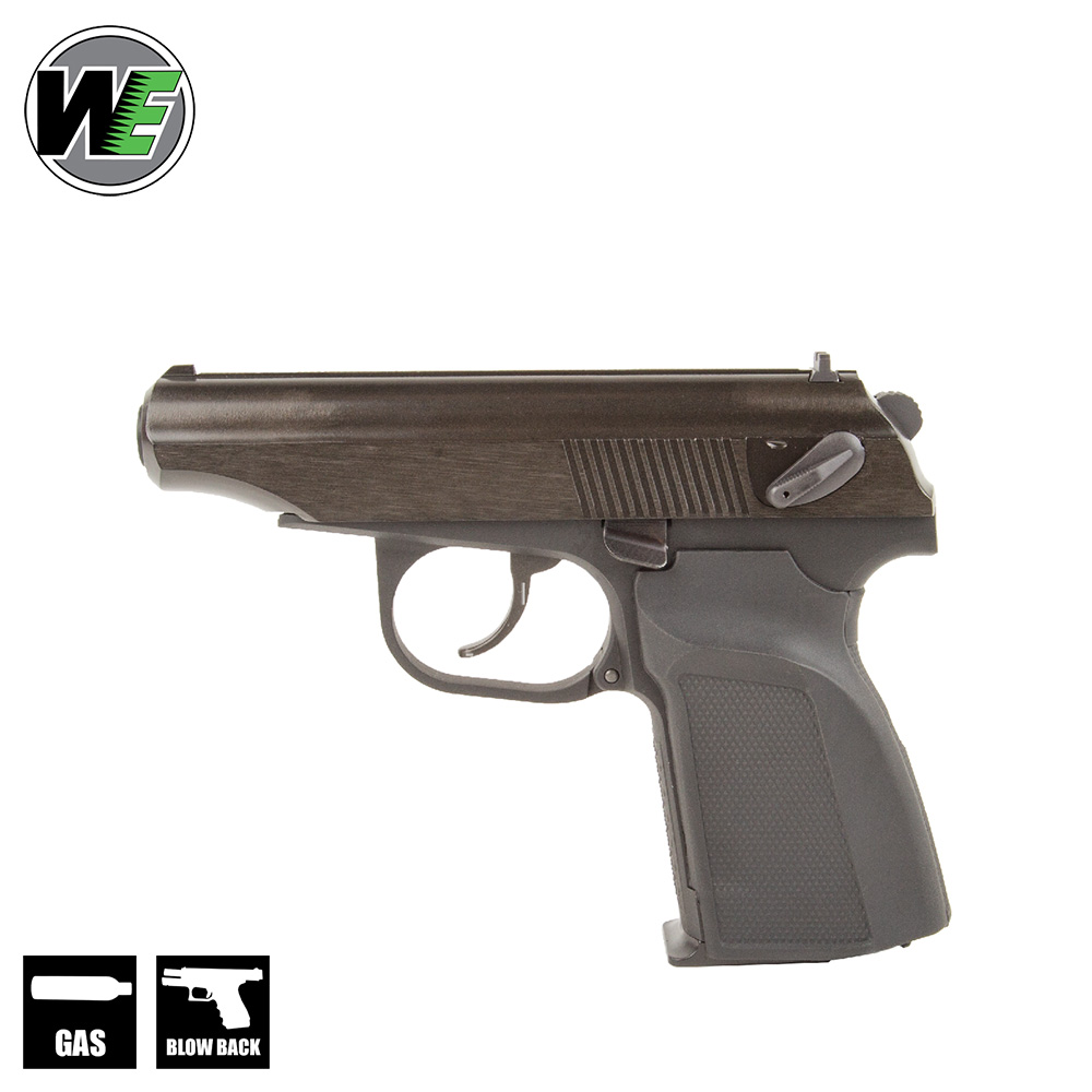 Makarov MKV Black Pistol GBB WE