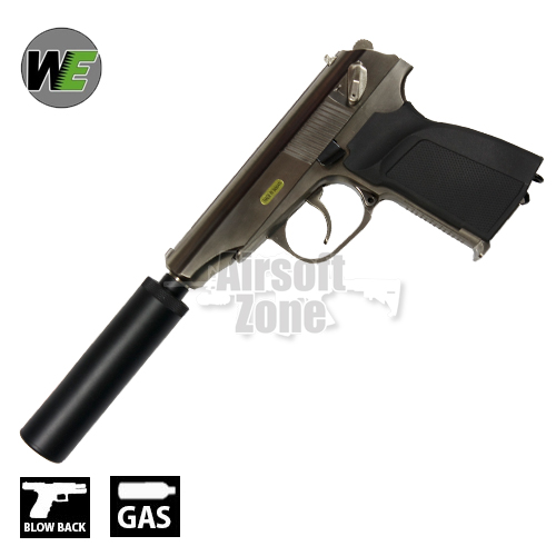 Makarov MKV Silver Pistol GBB WE