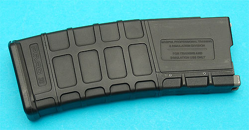 39rnd Magpul Gas Blowback Magazine Black G&P
