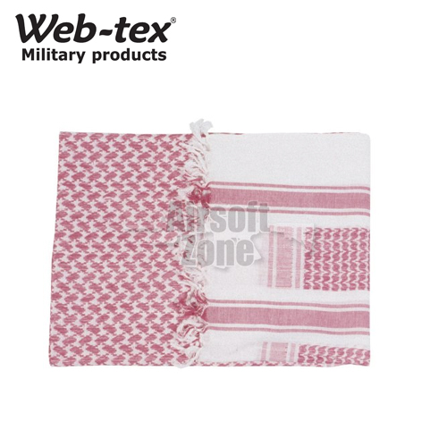 Shemagh Red/White WEB-TEX