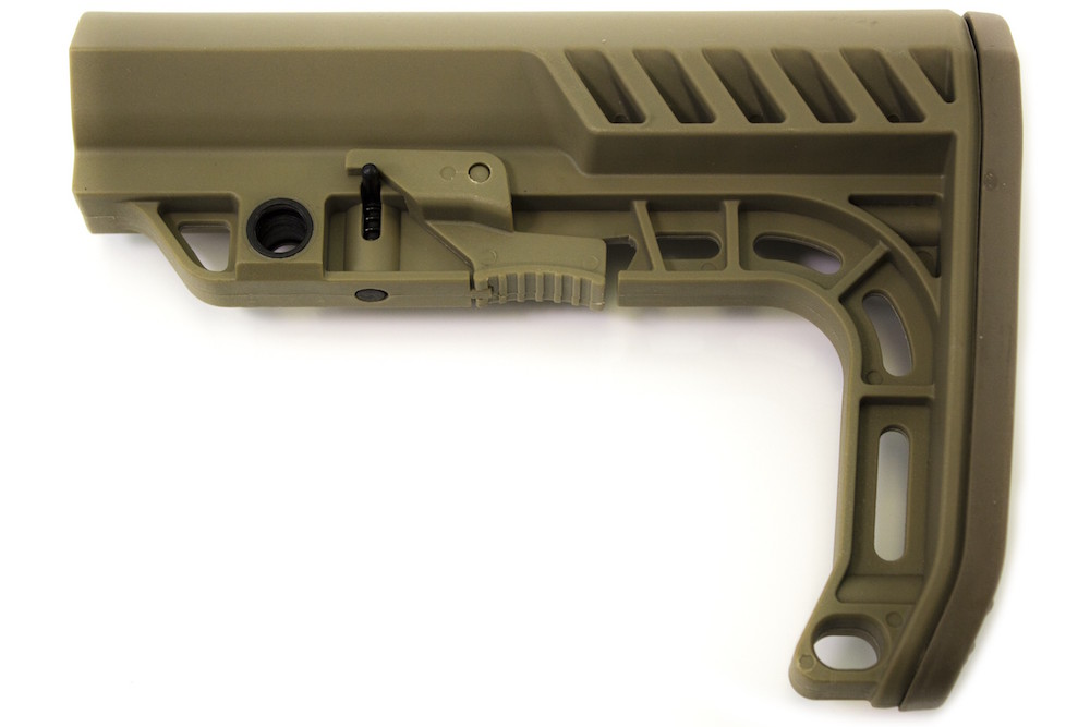 AXE Stock Tan for M4 AEG / GBB NUPROL